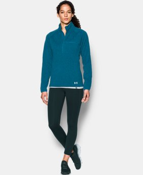 Women's UA Wintersweet 1/2 Zip  1 Color $67.99