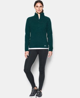 Women's UA Wintersweet 1/2 Zip  1 Color $79.99