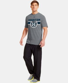 Men's Houston Astros Charged Cotton® Tri-Blend T-Shirt LIMITED TIME: FREE U.S. SHIPPING  $26.99