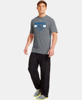 Men's Kansas City Royals Charged Cotton® Tri-Blend T-Shirt LIMITED TIME: FREE U.S. SHIPPING  $26.99