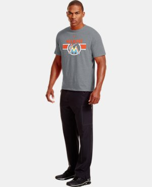 Men's Miami Marlins Charged Cotton® Tri-Blend T-Shirt LIMITED TIME: FREE U.S. SHIPPING 1 Color $26.99