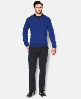 Men's UA Tips V-Neck Sweater  1 Color $89.99
