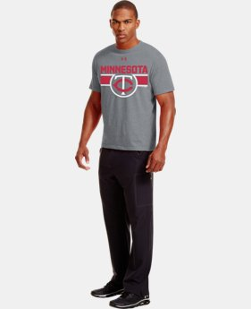 Men's Minnesota Twins Charged Cotton® Tri-Blend T-Shirt LIMITED TIME: FREE U.S. SHIPPING  $26.99