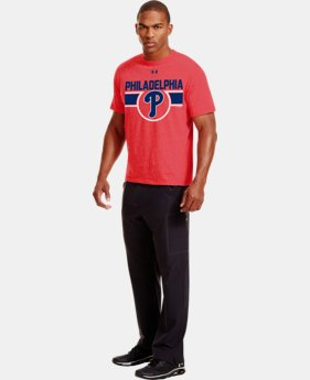 Men's Philadelphia Phillies Charged Cotton® Tri-Blend T-Shirt  1 Color $26.99