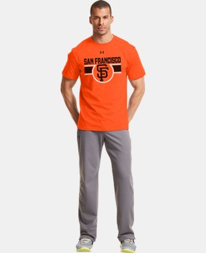 Men's San Francisco Giants Charged Cotton® Tri-Blend T-Shirt  1 Color $26.99
