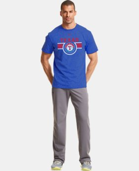 Men's Texas Rangers Charged Cotton® Tri-Blend T-Shirt LIMITED TIME: FREE U.S. SHIPPING  $26.99