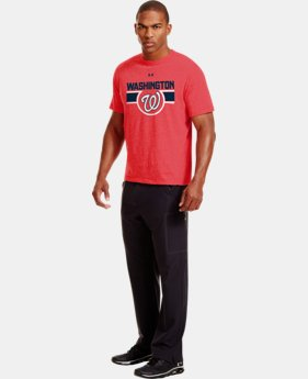 Men's Washington Nationals Charged Cotton® Tri-Blend T-Shirt  1 Color $26.99