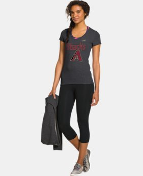Women's Arizona Diamondbacks Charged Cotton® Tri-Blend T  1 Color $26.99