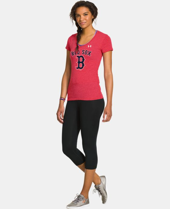 Women's Boston Red Sox Charged Cotton® Tri-Blend T LIMITED TIME: FREE U.S. SHIPPING 1 Color $26.99