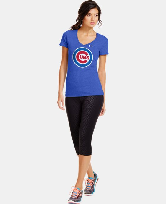 Women's Chicago Cubs Charged Cotton® Tri-Blend T  1 Color $34.99