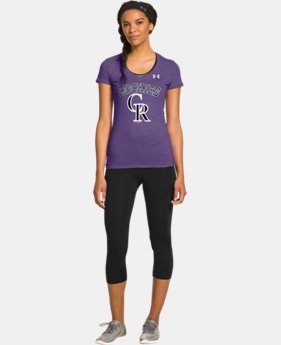 Women's Colorado Rockies Charged Cotton® Tri-Blend T