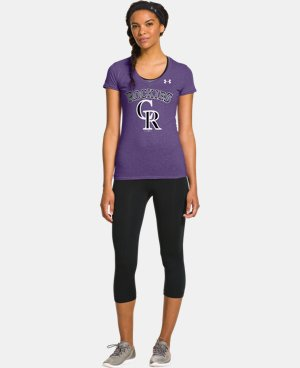 Women's Colorado Rockies Charged Cotton® Tri-Blend T LIMITED TIME: FREE U.S. SHIPPING 1 Color $26.99