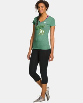 Women's Oakland A's Charged Cotton® Tri-Blend T