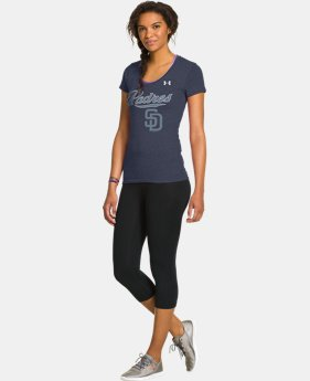 Women's San Diego Padres Charged Cotton® Tri-Blend T