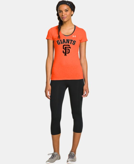 Women's San Francisco Giants Charged Cotton® Tri-Blend T  1 Color $26.99