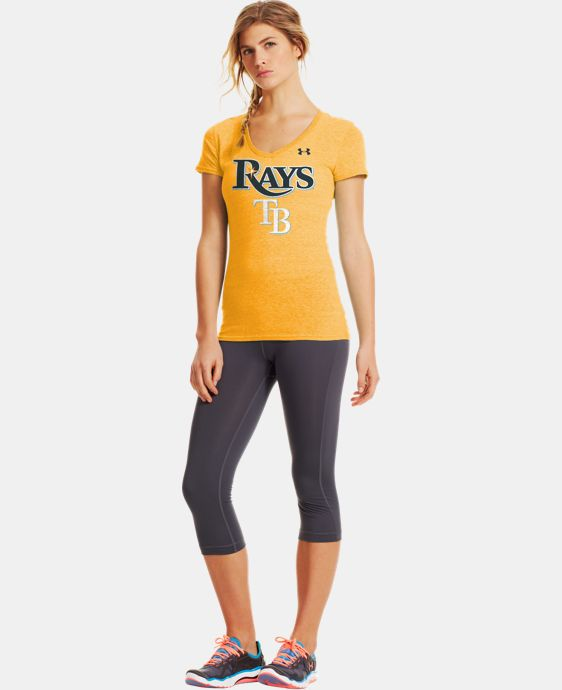Women's Tampa Bay Rays Charged Cotton® Tri-Blend T LIMITED TIME: FREE U.S. SHIPPING 1 Color $26.99