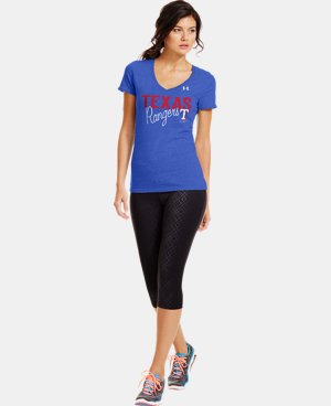 Women's Texas Rangers Charged Cotton® Tri-Blend T  1 Color $34.99