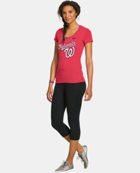 Women's Washington Nationals Charged Cotton® Tri-Blend T  1 Color $26.99