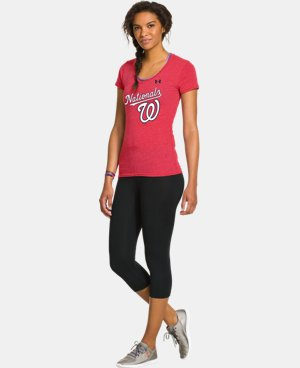 Women's Washington Nationals Charged Cotton® Tri-Blend T LIMITED TIME: FREE U.S. SHIPPING 1 Color $26.99