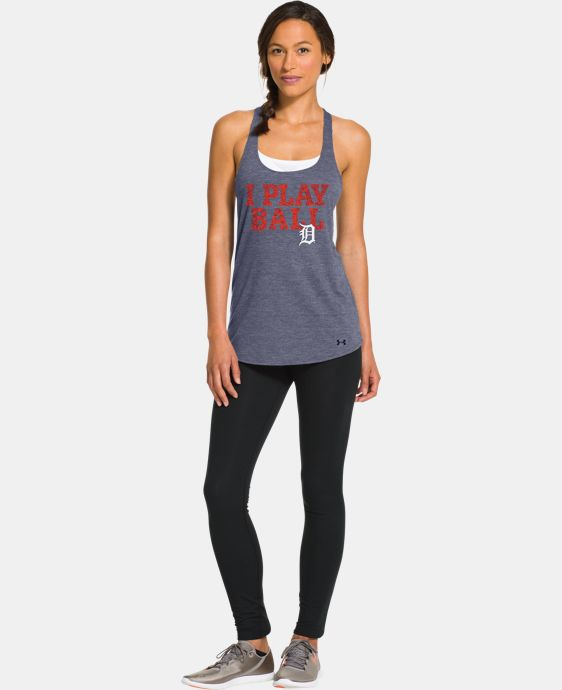 Women's Detroit Tigers Knot Tank LIMITED TIME: FREE U.S. SHIPPING  $26.99