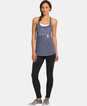 Women's Los Angeles Dodgers Knot Tank  1 Color $26.99