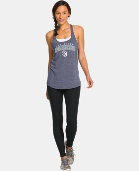 Women's San Diego Padres Knot Tank  1 Color $26.99