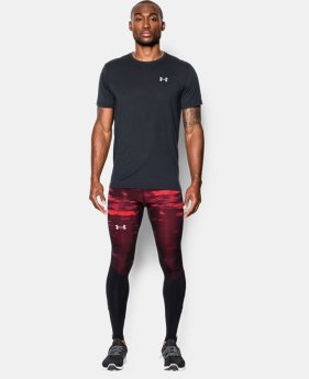 Men's UA Launch Run Printed Compression Leggings