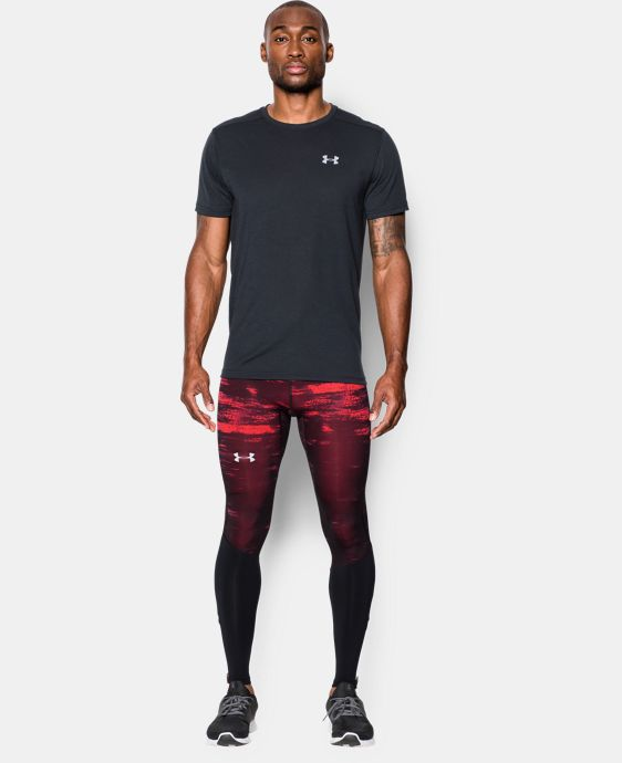Men's UA Launch Run Printed Compression Leggings LIMITED TIME: FREE U.S. SHIPPING 1 Color $84.99