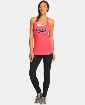 Women's Washington Nationals Knot Tank