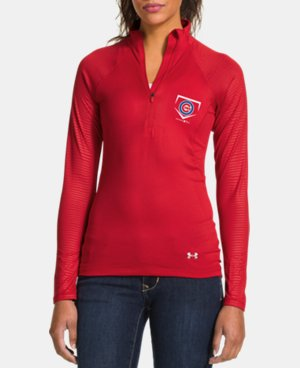 Women's Chicago Cubs UA Tech™ ½ Zip  1 Color $56.99