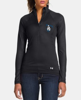 Women's Los Angeles Dodgers UA Tech™ 1/2 Zip LIMITED TIME: FREE U.S. SHIPPING 1 Color $56.99