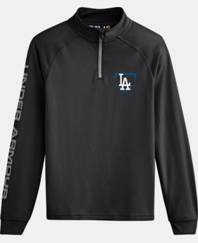 Boys' Los Angeles Dodgers UA Tech™ ¼ Zip