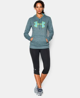 Women's UA Storm Armour® Fleece Big Logo Twist Hoodie  11 Colors $35.99 to $44.99