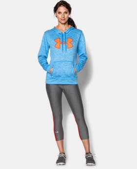 Women's UA Storm Armour® Fleece Big Logo Twist Hoodie  4 Colors $35.99 to $44.99
