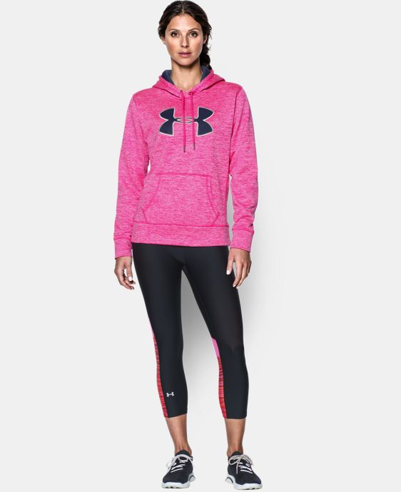 Women's UA Storm Armour® Fleece Big Logo Twist Hoodie LIMITED TIME: FREE U.S. SHIPPING 1 Color $33.74 to $44.99