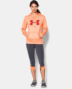 Women's UA Storm Armour® Fleece Big Logo Twist Hoodie  2 Colors $33.74