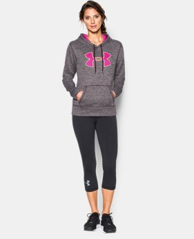 Women's UA Storm Armour® Fleece Big Logo Twist Hoodie