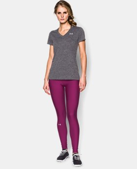Women's UA Tech™ Dope Dye V-Neck  1 Color $14.24