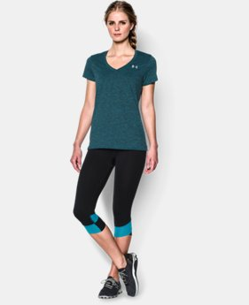 Women's UA Tech™ Dope Dye V-Neck