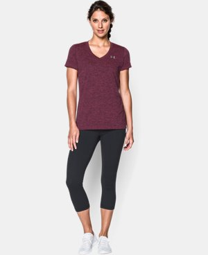 Women's UA Tech™ Dope Dye V-Neck LIMITED TIME: FREE U.S. SHIPPING  $18.99