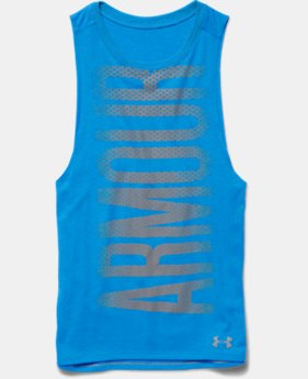 Girls' UA Studio Sport Tank