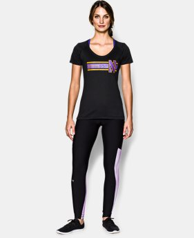 Women's UA Charged Cotton® Northwestern Goth T-Shirt