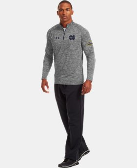 Men's Notre Dame Shamrock Series UA Tech™ ¼ Zip  1 Color $54.99