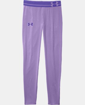 Girls' UA HeatGear® Armour Legging