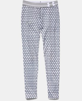Girls' UA HeatGear® Armour Printed Legging