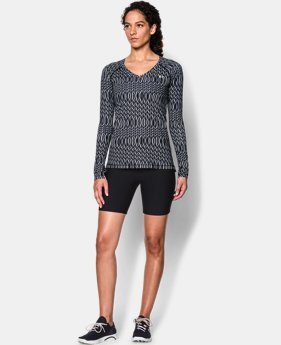 Women's UA HeatGear® Armour Printed Long Sleeve  5 Colors $28.99