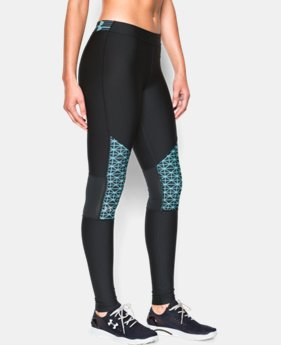 Women's UA HeatGear® Armour Print Inset