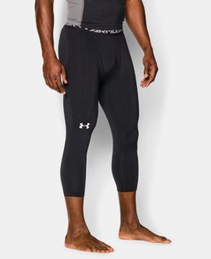 Best Seller  Men's UA HeatGear® Armour ¾ Compression Leggings   $39.99