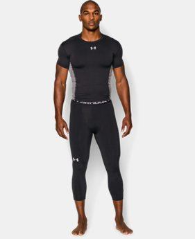 New Arrival  Men's UA HeatGear® Armour ¾ Compression Leggings  2 Colors $39.99