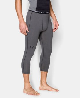 Men's UA HeatGear® Armour ¾ Compression Leggings  4 Colors $26.99